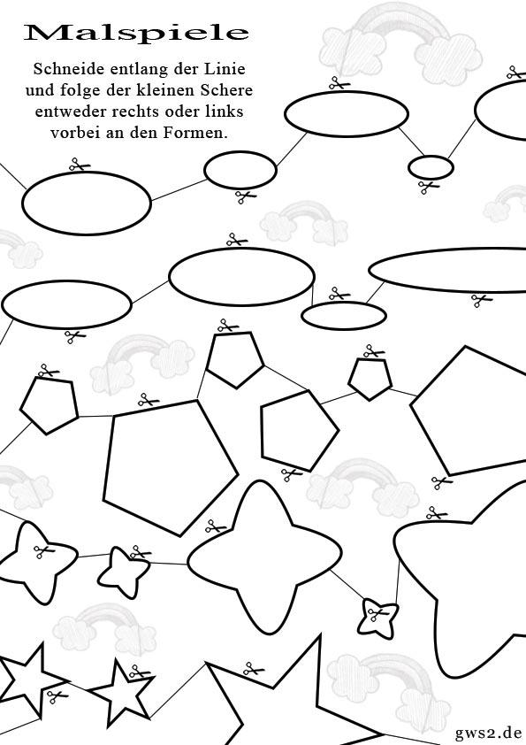 Berühmt Malspiele Für Kinder Ideen - Framing Malvorlagen ...