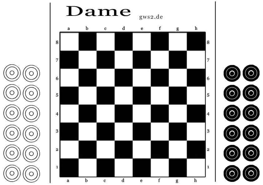 brettspiel dame spielregeln