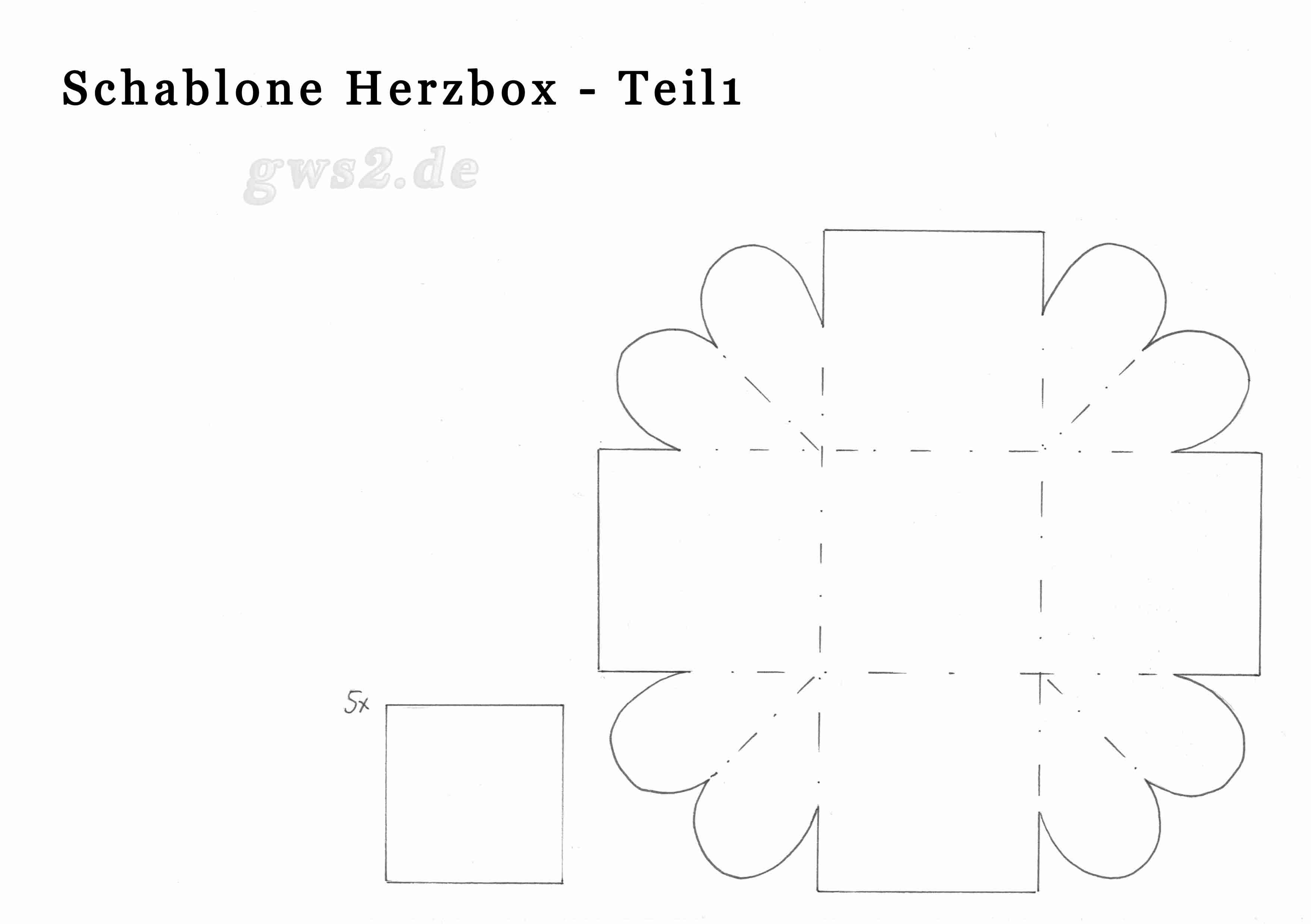 Schön Herz Box Vorlage Galerie - Beispiel Wiederaufnahme Vorlagen ...