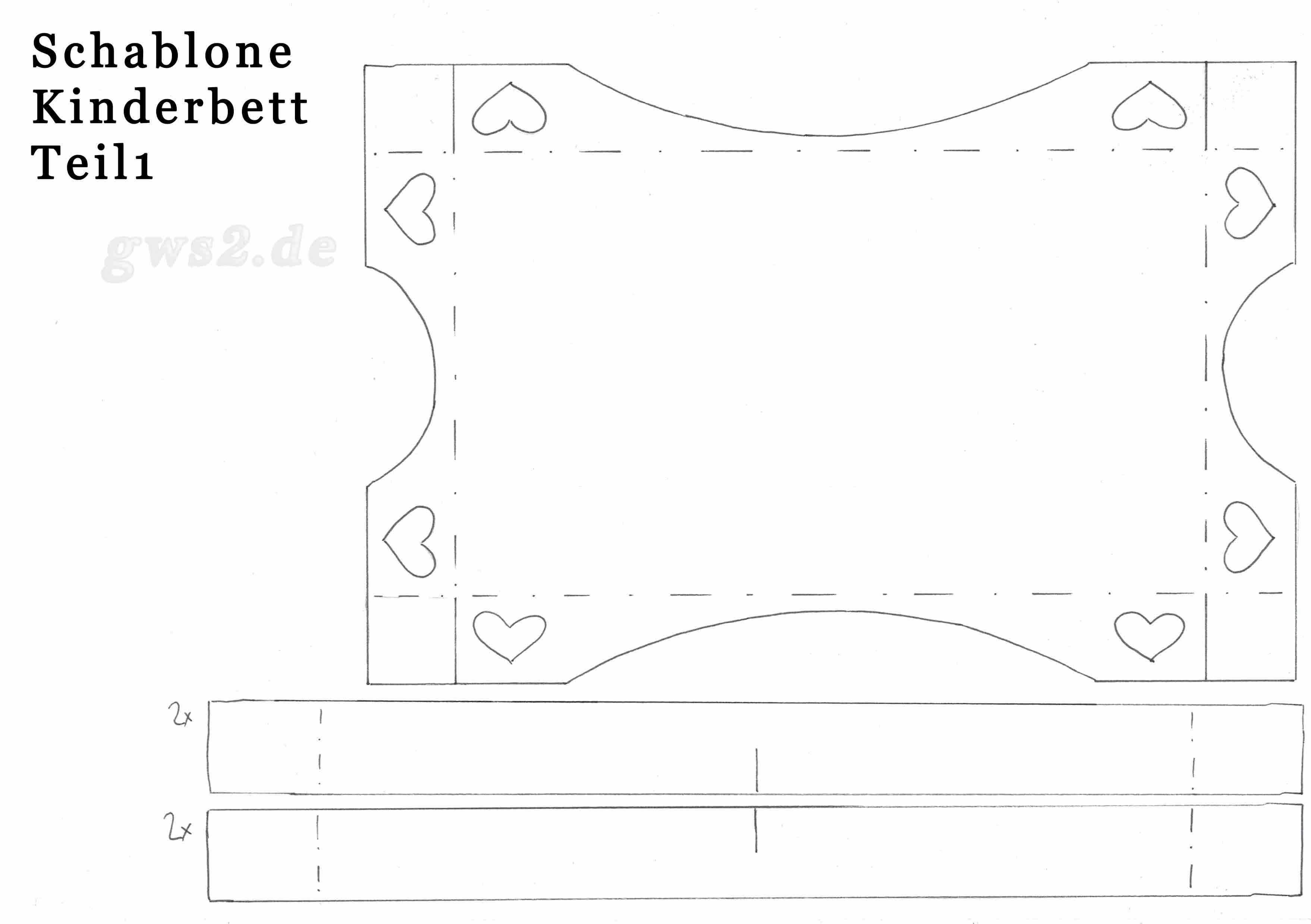 kinderbett aus papier basteln. Black Bedroom Furniture Sets. Home Design Ideas