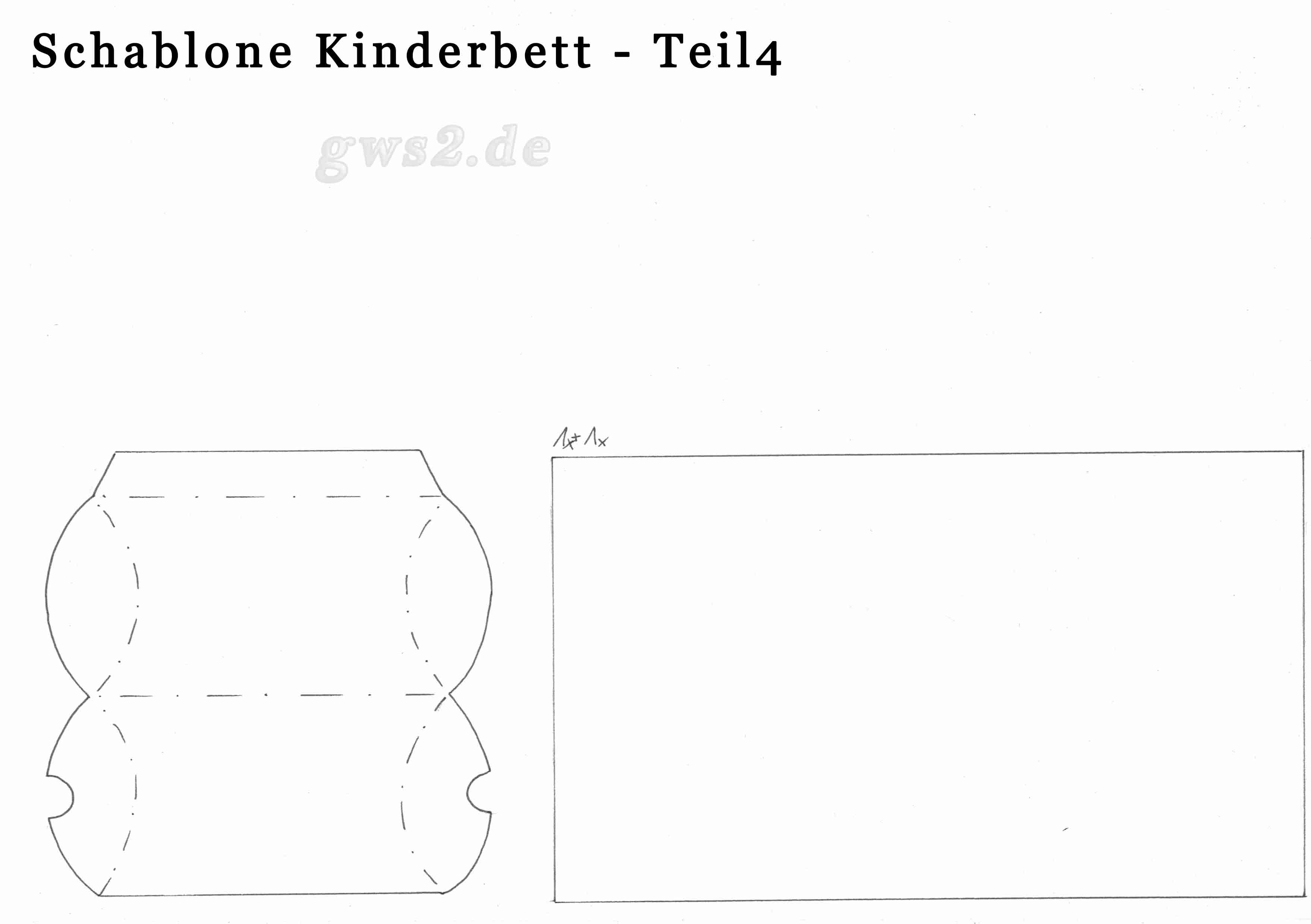 kinderbett aus papier basteln. Black Bedroom Furniture Sets. Home Design Ideas