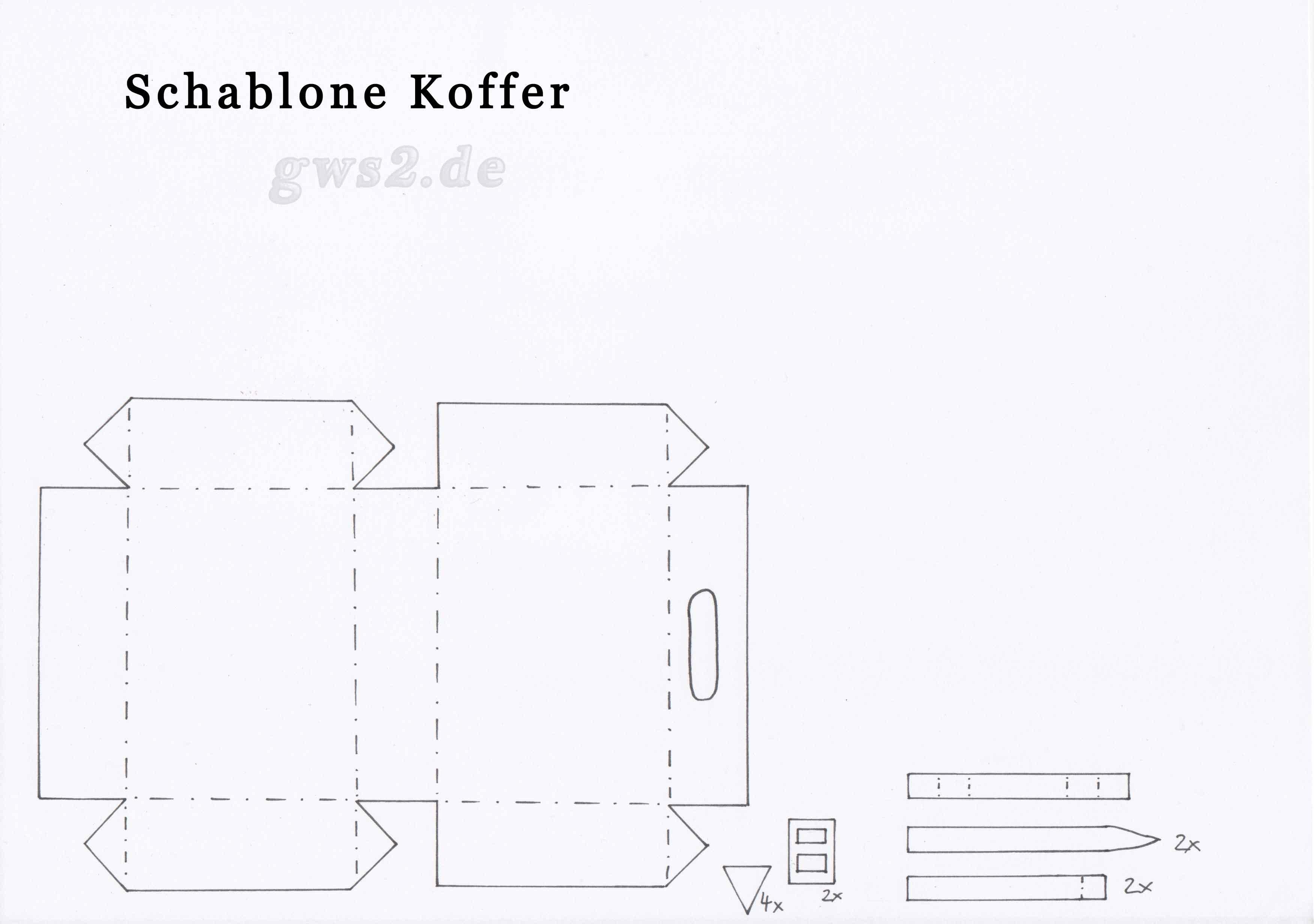 Pin Koffer Reisekoffer Aus Pappe Für Kinder Fairy Fee Schmetterling ...