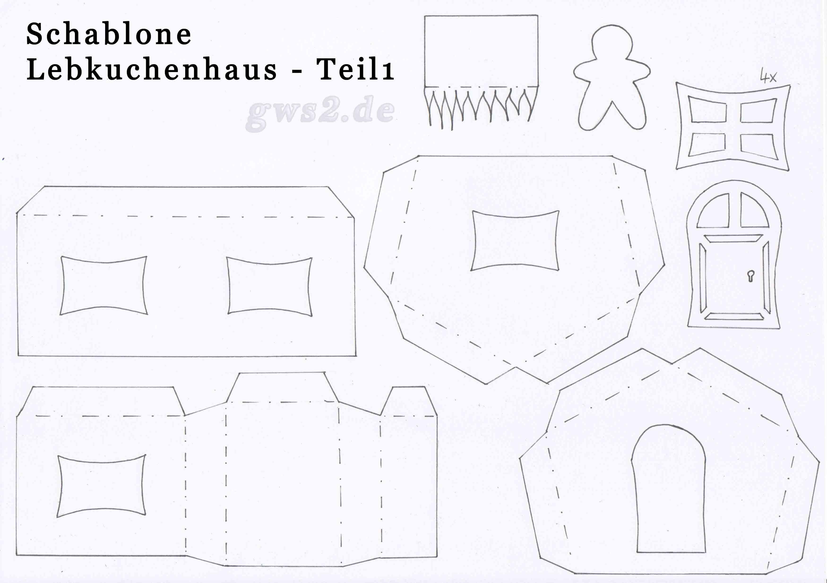 lebkuchenhaus basteln beleuchtet aus papier. Black Bedroom Furniture Sets. Home Design Ideas
