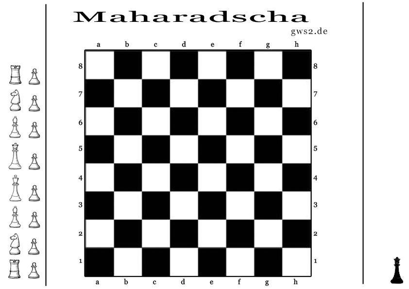 Vorschaubild vom Maharadscha Spielbrett