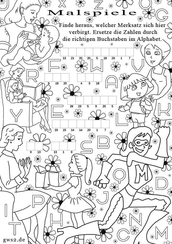 Groß Malspiele Für Kinder Kostenlos Galerie - Ideen färben ...