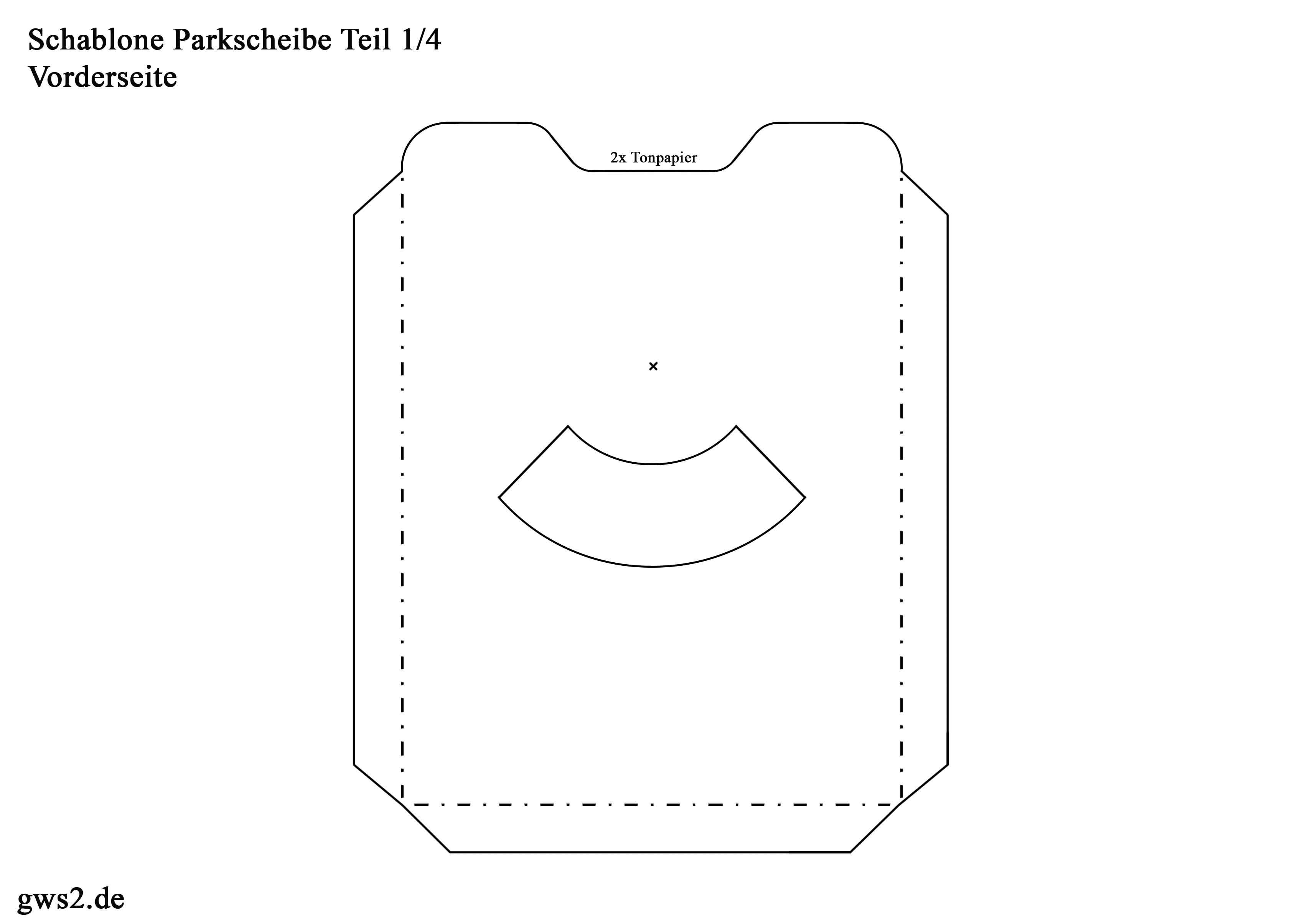 parkscheibe basteln my blog. Black Bedroom Furniture Sets. Home Design Ideas