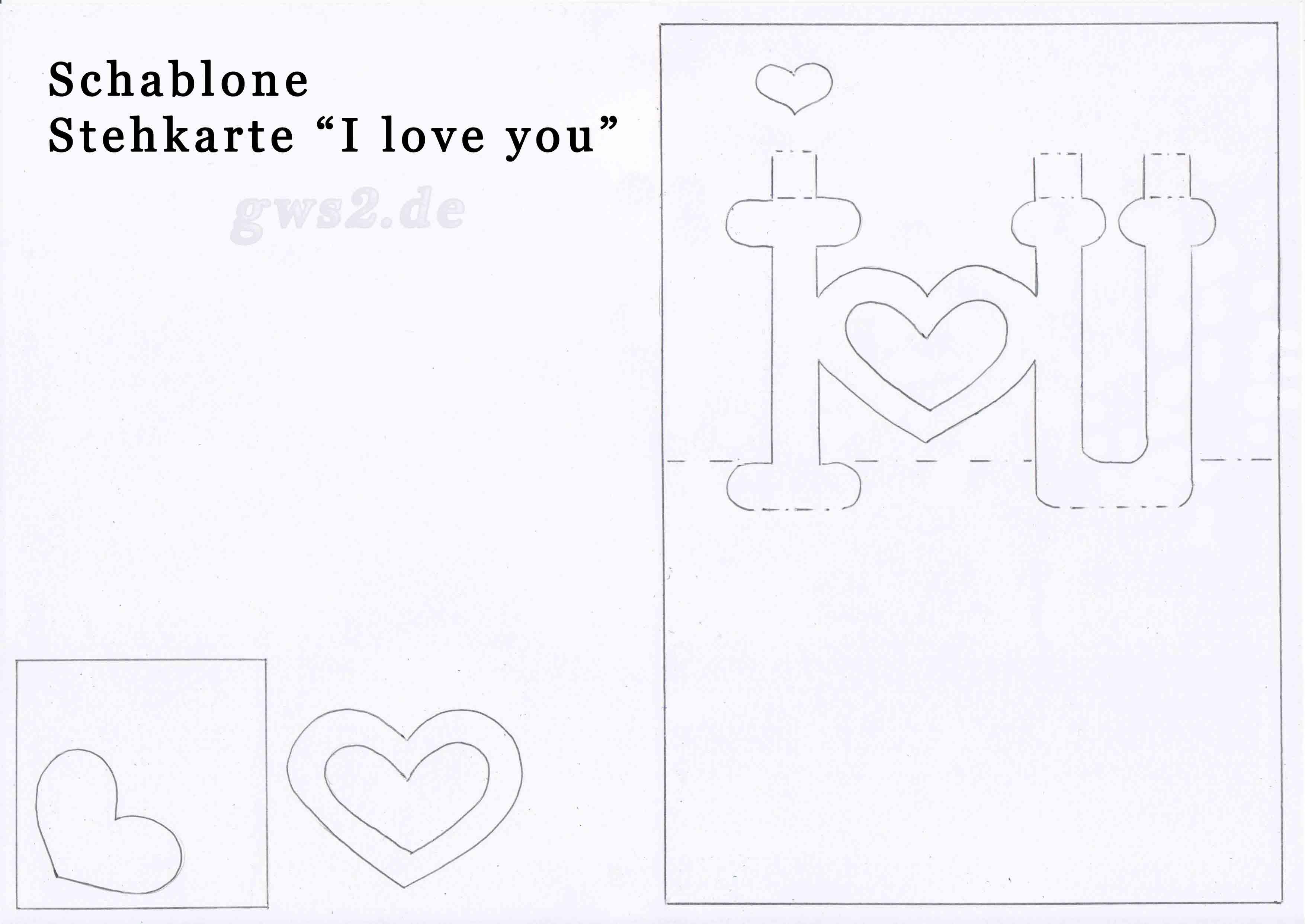 Ziemlich Valentinstag Karten Vorlagen Bilder ...