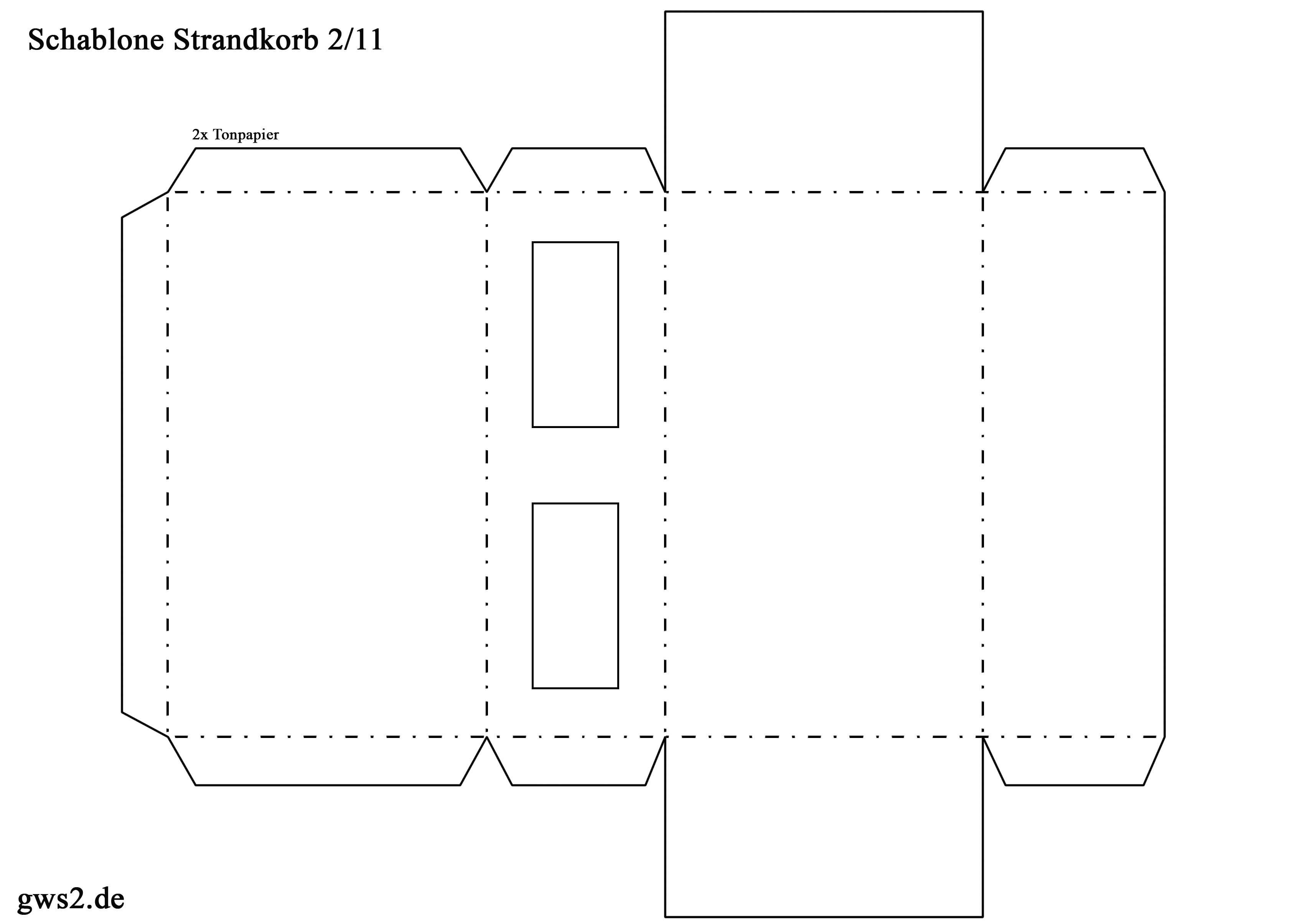 strandkorb basteln. Black Bedroom Furniture Sets. Home Design Ideas