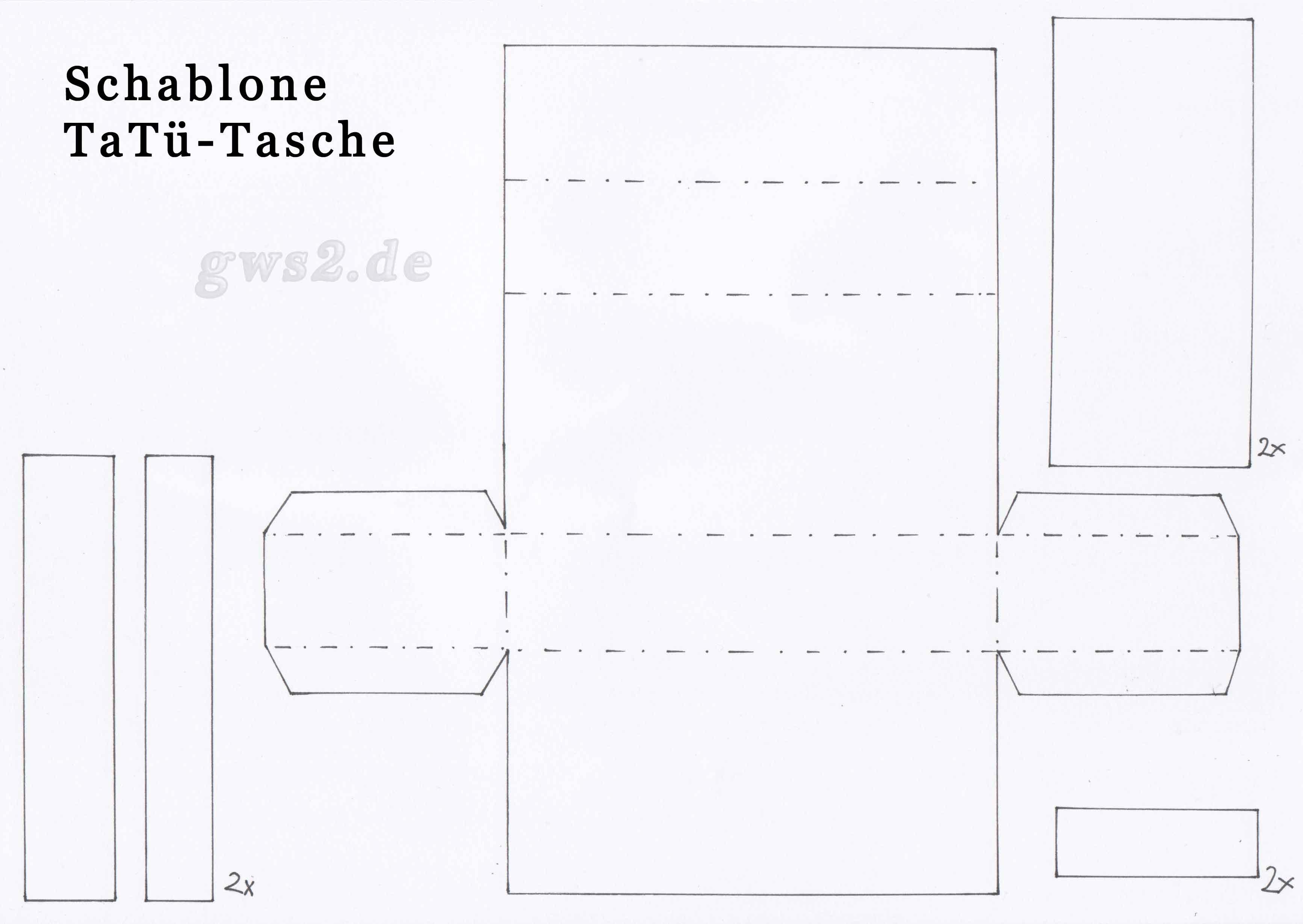 taschent chertasche aus papier bastelanleitung. Black Bedroom Furniture Sets. Home Design Ideas