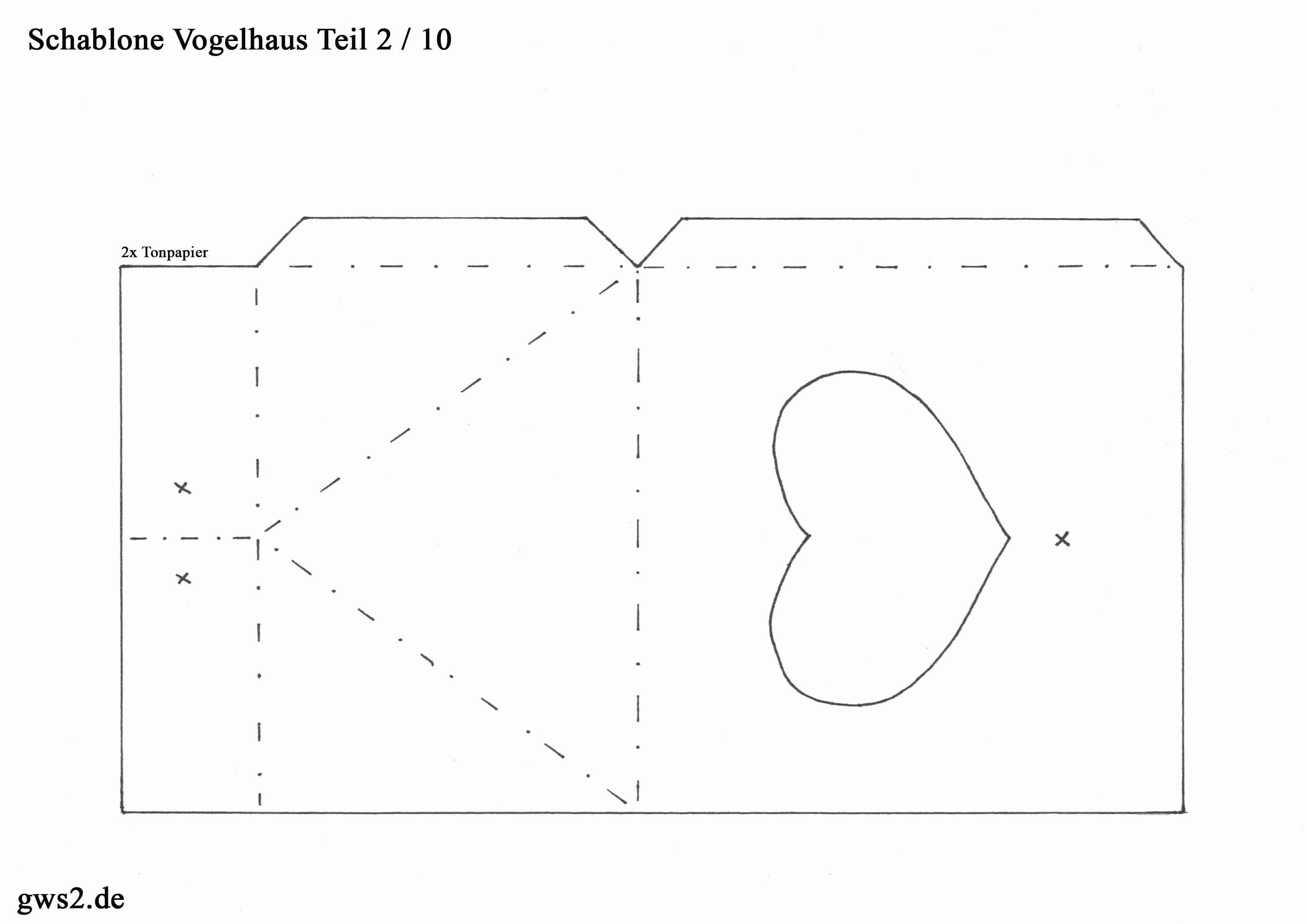 vogelhaus basteln anleitung und schablonen. Black Bedroom Furniture Sets. Home Design Ideas
