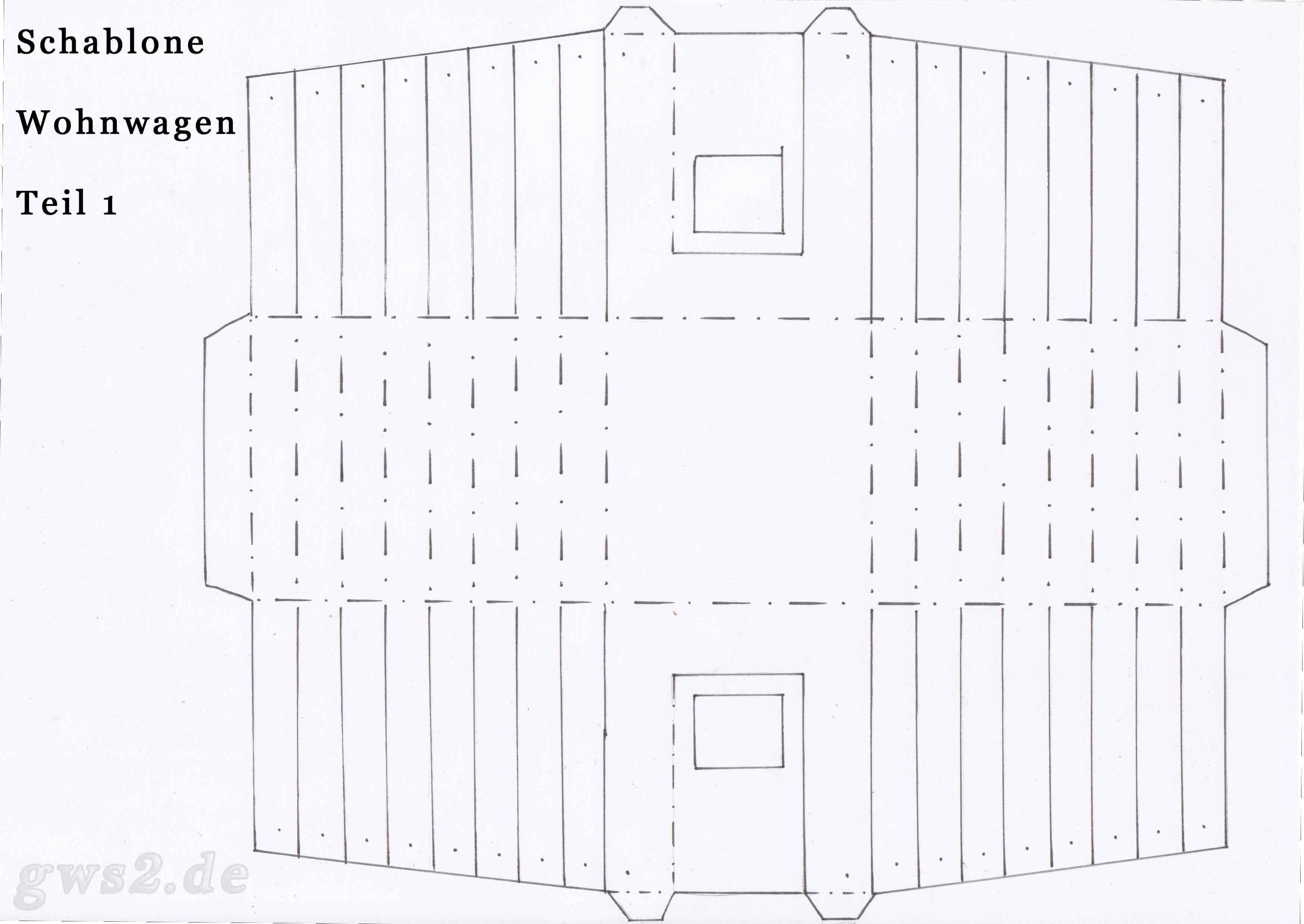 Wohnwagen aus Papier: Camper Paper-ART - Tutorial [HD/deutsch ...