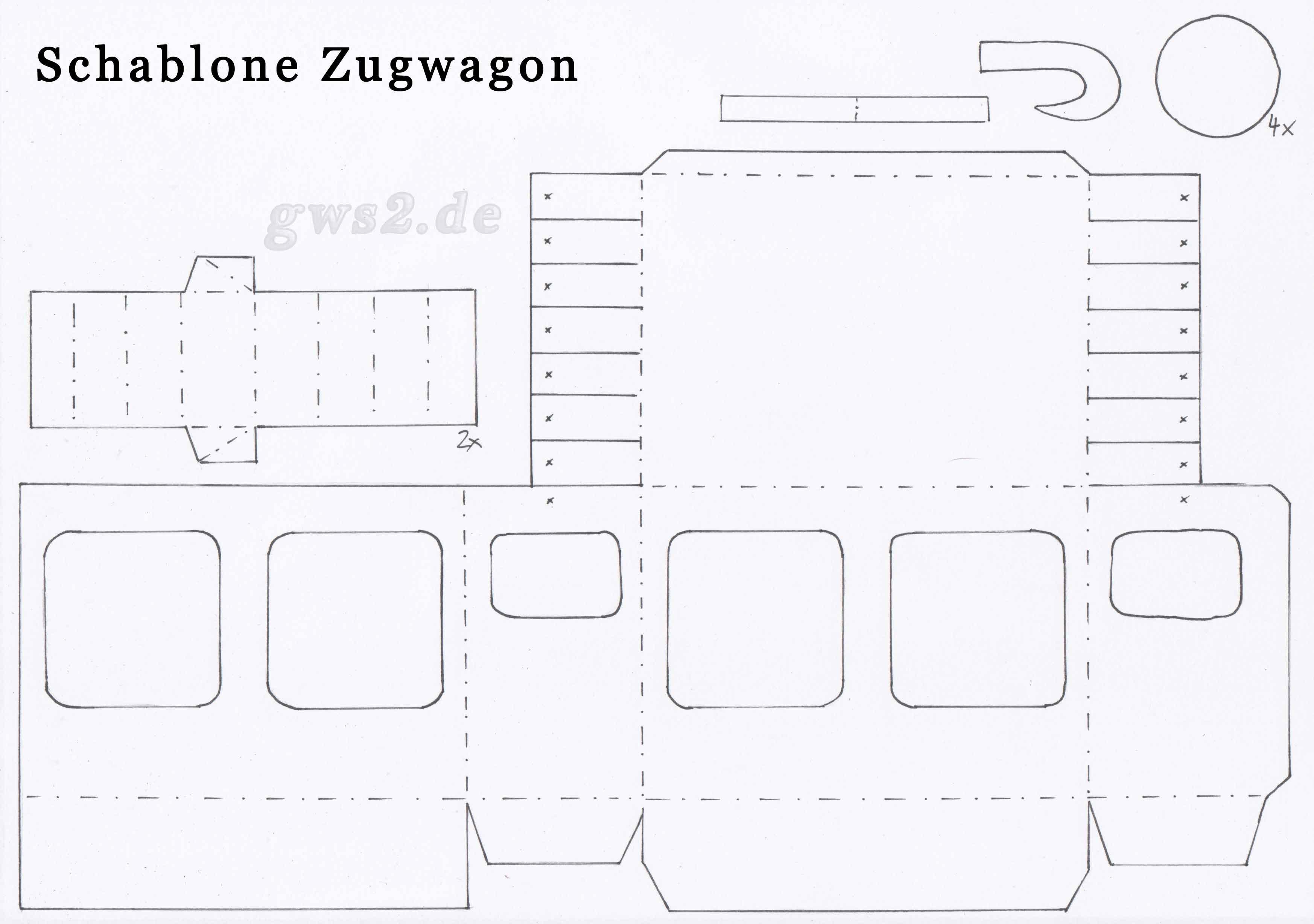 Bild von Schablone für einen Personenwagen