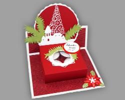 weihnachtsdekoration aus papier. Black Bedroom Furniture Sets. Home Design Ideas