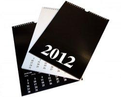 Blanko-Bastelkalender selbst gemacht