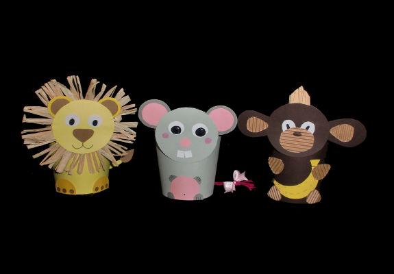 Basteln Mit Bechern Tiermotive Fur Kinder