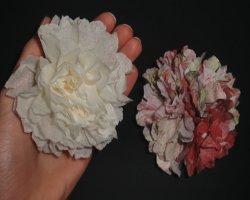 Bild von Serviettenblumen