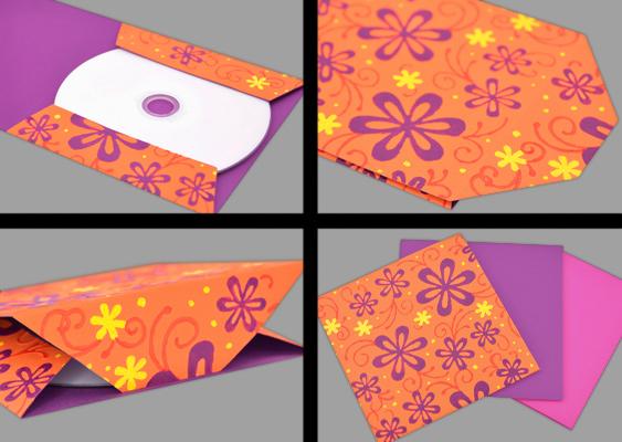 Beliebt CD-Hülle zum Ausdrucken - Schutzpapier für optische Speichermedien FM51