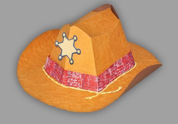 Cowboyhut Zum Aufsetzen Bastelanleitung