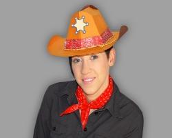 konkurrenzfähiger Preis fairer Preis suche nach original Cowboyhut zum Aufsetzen - Bastelanleitung