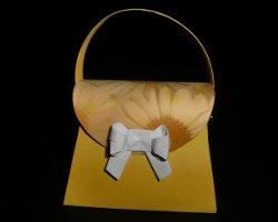 Bild von Papierhandtasche