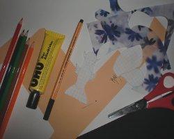 Bild von Bastelmaterial für Elfen