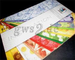 Transparentpapier Flora DIN A4 Bastelpapier