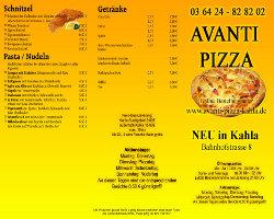 Bild von Pizza Flyer