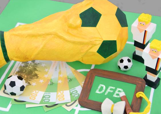 Fußball Aus Papier Basteln Fanartikel Selber Machen