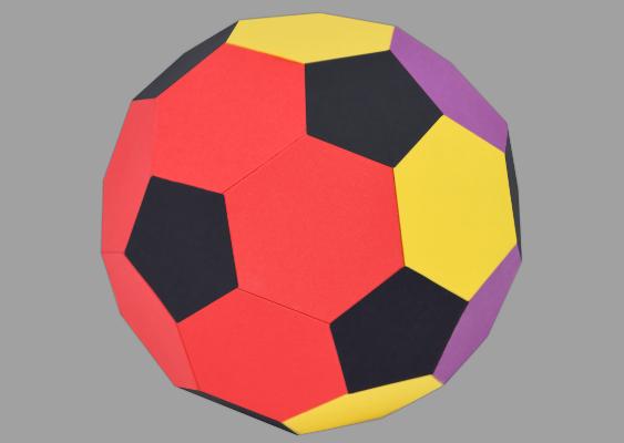 Fussball Aus Papier Basteln Fanartikel Selber Machen