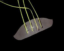 Bild von Gitarrensteg aus Papier