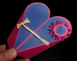 Bild von Verpackung die wie Herz aussieht