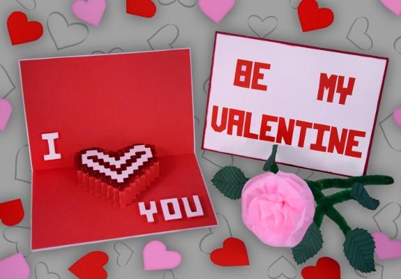 Bild Von Valentinstagskarte Aus Papier (DAoCFrEak) Fine Art Künstlerin