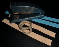 Bastelmaterial für Herzanhänger