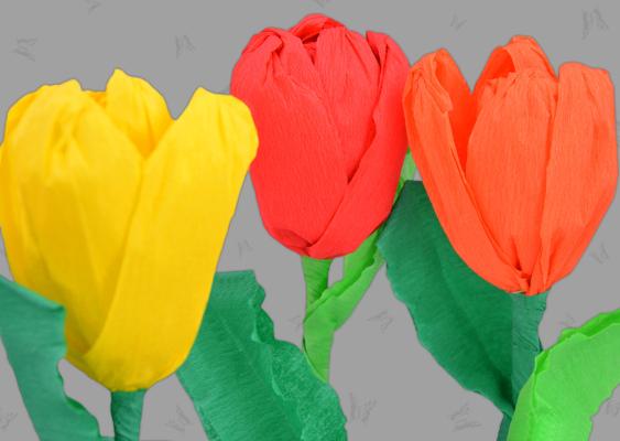 tulpen einfach basteln anleitung, tulpen basteln anleitung | dansenfeesten, Design ideen