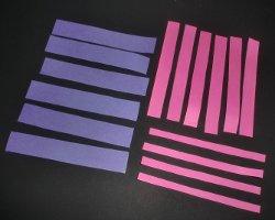 Bild von Papierstreifen