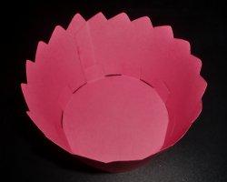 Muffinform aus Papier