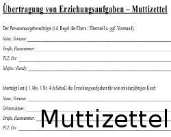 U18 Formular Der Partyzettel Zum Ausdrucken Download 2