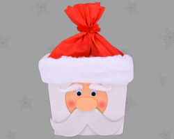 Picture of Santa Clause Packaging Box by Veronika Vetter Fine Artist