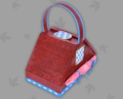 picknickkorb basteln rustikal f r bayerische schmankerl. Black Bedroom Furniture Sets. Home Design Ideas