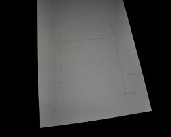 Bild vom Aufzeichnen der Platzkarte