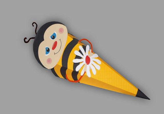 Schultüte Mit Bienengesicht Basteln