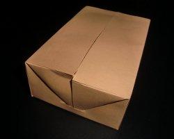 fertige selbstschließende Schachtel