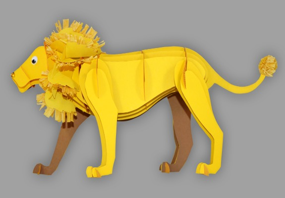 Lowen Maske Basteln How To Make A Lion Mask