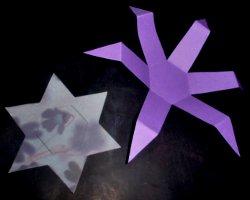 Bastelanleitung: Sternenbox aus Papier schneiden