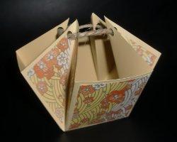 Fertiger Tischspender aus Papier