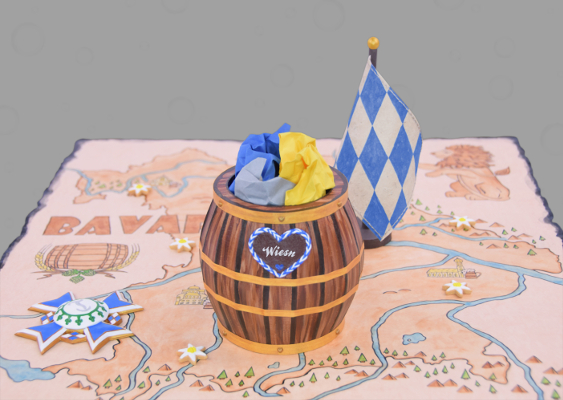 Brown University: Department of History - Professor Omer Bartov. The Kingdom of Bavaria in the 19th Century. Beer barrels, Queens and Gingerbread Hearts. Learning material for Freshmen. Created by Veronika Vetter - famous german Fine Artist