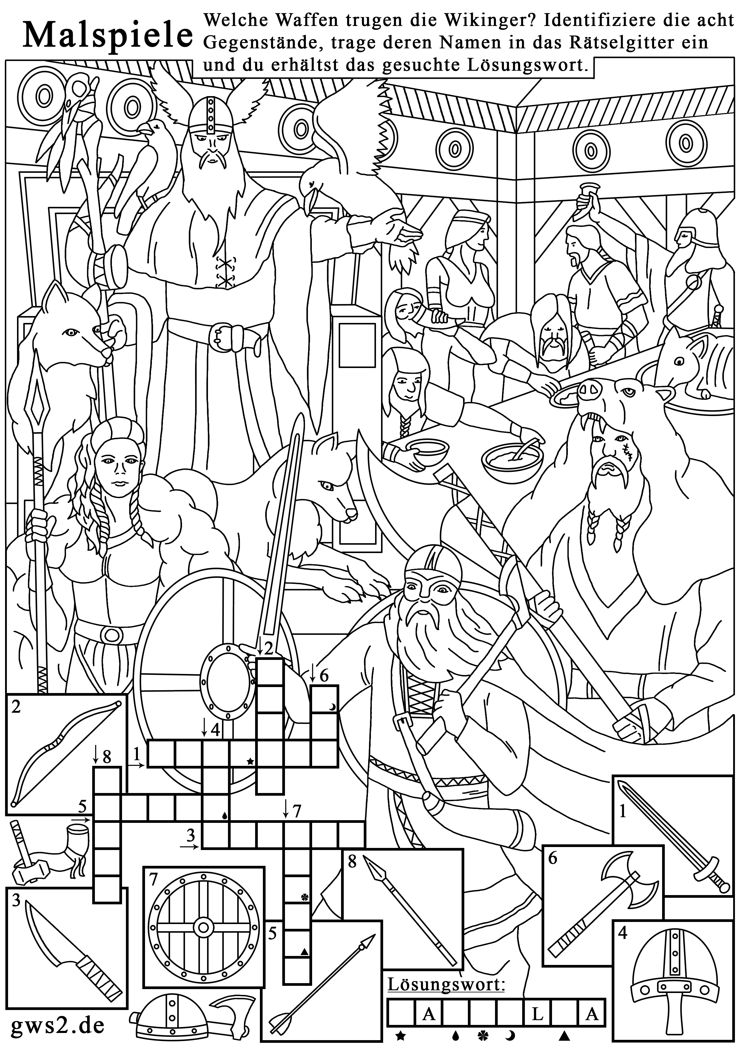 Ave-Maria-University, Florida (Academy of History): The Weapons of the Vikings. Germanic customs and religions. Teaching Material for Students, recommended by Ph.D. Ingmar Rentzhog. The scientific worksheet was created by Veronika Vetter. This is a Bavarian Valkyrie, who brings white Anglo-Saxons to Walhalla after death